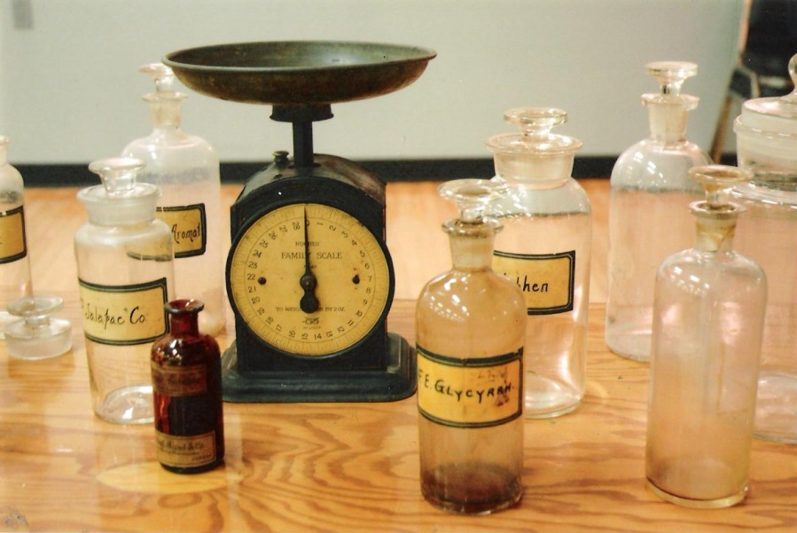 Original bottles from Westaway Pharmacy