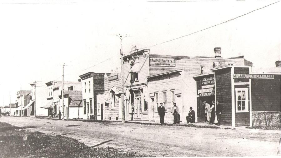 Westaway Pharmacy exterior - 1910