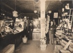 Westaway Pharmacy interior - 1910